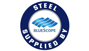 bluescope logo in blue